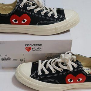 Converse X Comme de Garcons Black Low Top